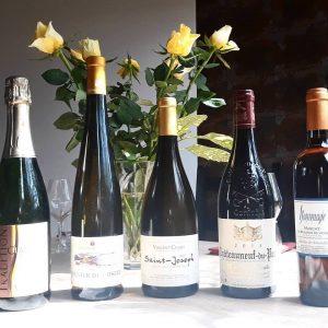 dégustation vins du Rhône